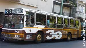 The 39 bus - from Corrientes to Carranza